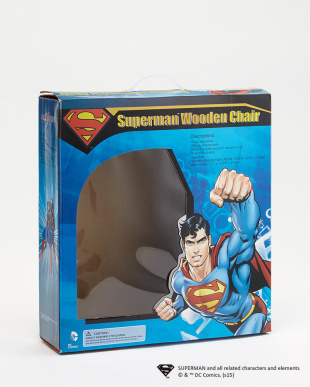 SUPERMAN  WOODEN CHAIR見る