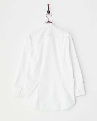 白ドビー ワイドカラーワイシャツ見る