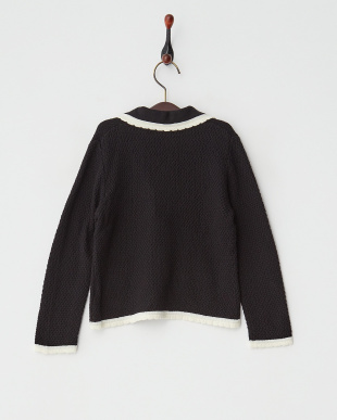 クロ  Trimming Knit ジャケット見る