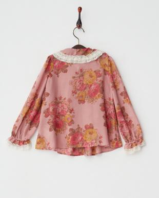 ピンク Vintage Rose ブラウス見る