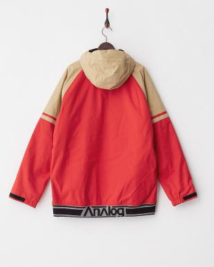 Redstone/Tan Analog Greed Jacket見る