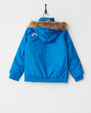 Heron Blue  Girls' Twist Bomber Jacket見る