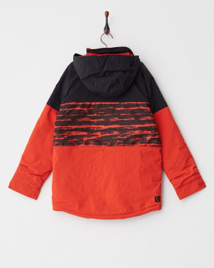 Burner Sloppy Stripe Block Boys' Symbol Jacket見る