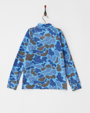 Blue Steel Duck Hunter Camo  Youth Fleece 1/4 Zip見る