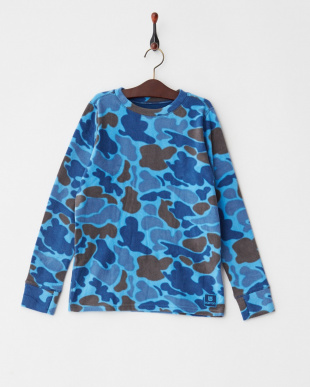 Blue Steel Duck Hunter Camo  Youth Fleece Set見る