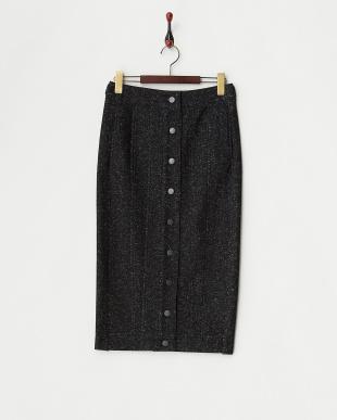 ブラック 圧縮ブークレタイトスカート見る