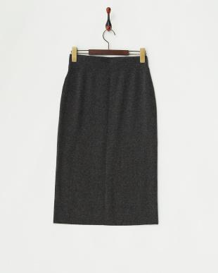 グレー  フロントリブタイトスカート見る