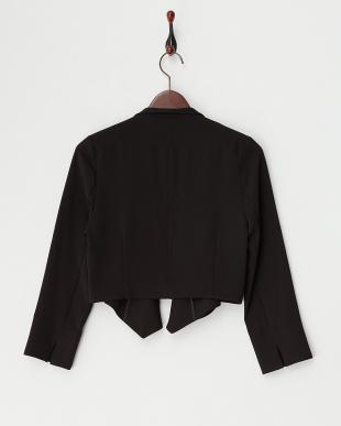 ブラック  オープンジャケット見る
