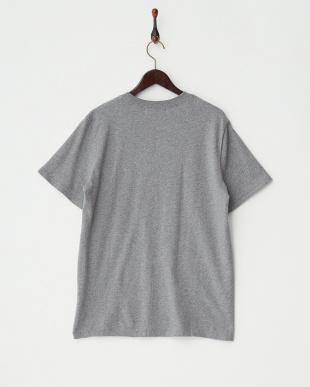 グレー グラフィックTシャツ|MEN見る