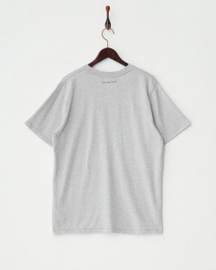 グレー  デザインTシャツ|MEN見る