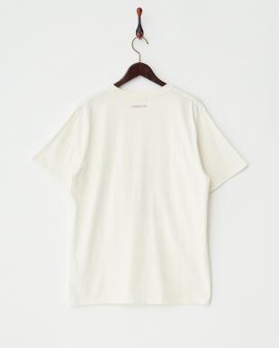 ホワイト  デザインTシャツ|MEN見る