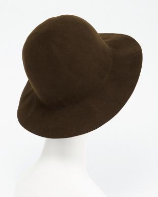 BROWN  CRUSHABLE HAT見る
