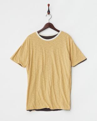 ブラック  リバーシブル ポケットTシャツ見る