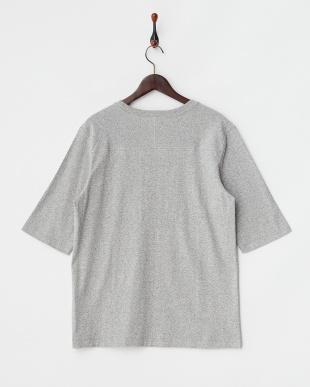 ヘザーグレー 88/12フットボール5分袖Tシャツ見る