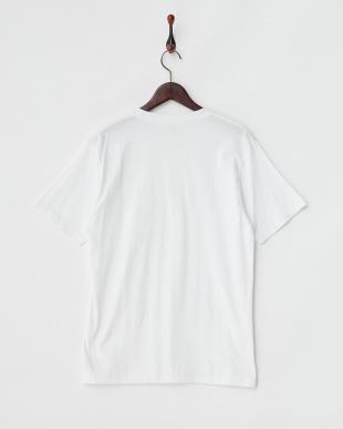 ホワイト  2Pパック クルーネックTシャツ見る