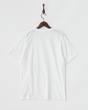 ホワイト  2Pパック VネックTシャツ見る
