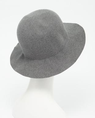GRAY  CRUSHABLE HAT見る