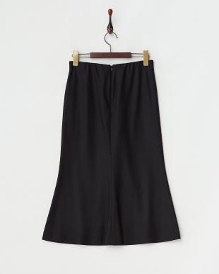 ブラック  ウールマーメイドスカート見る