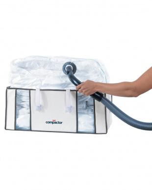 ホワイト  クローゼット用圧縮ボックス|Compactor見る
