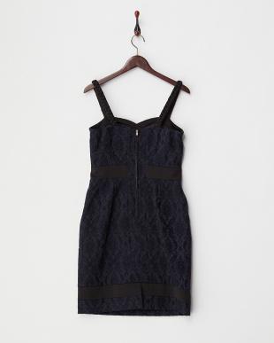 ブラック×ネイビー系 アフロディーテフルブルームドレス見る