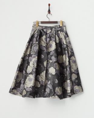 グレー  ゴシックローズ テイルスカート見る