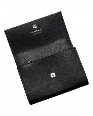 ブラック ガンチーニ財布見る