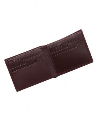 ワイン  純札入れ・二つ折り財布 シープスエード見る