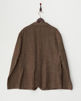 ブラウン ウールジャケット見る