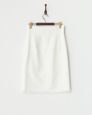 O.WHT  SUMMER TWEED SKIRT見る