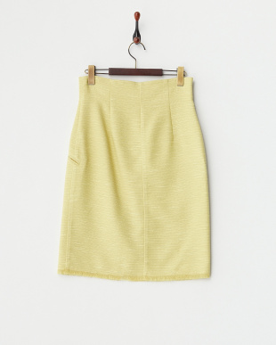 YEL  SUMMER TWEED SKIRT見る