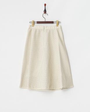 IVR  パンチングレザースカート見る