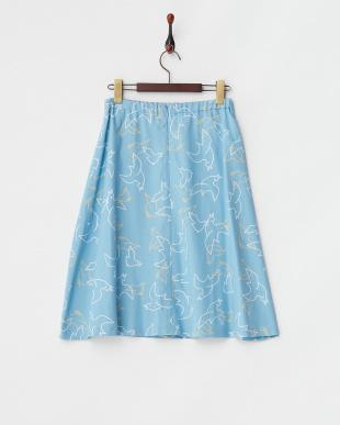 BLU  アリシアバードPTスカート見る