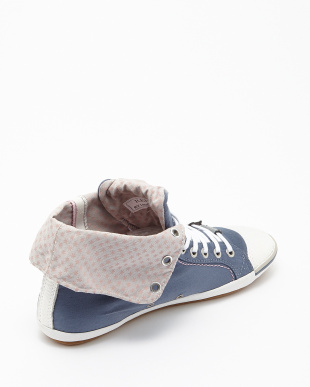BLUE  BROOKE CANVAS SHOES見る