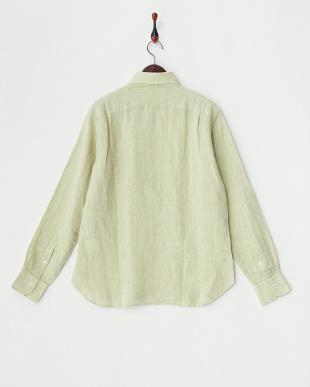 GREEN  ANX.LINEN P/O リネンプルオーバーシャツ見る