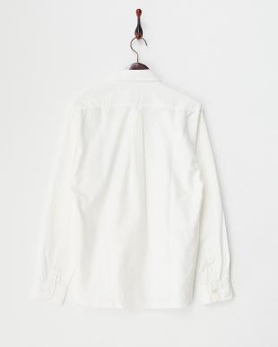 ホワイト  MI.OXBD トロピカルポケットシャツ見る
