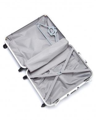 パープル  OVAL SPINNER FRAME 4輪 65cm ハンガー付きスーツケース見る