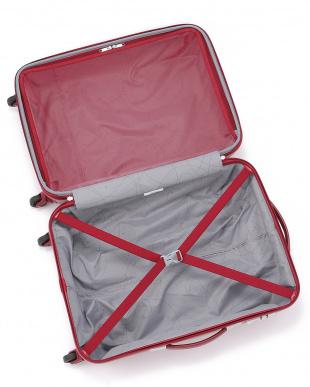 バーガンディ  ARMET SPINNER 4輪 66cm スーツケース見る