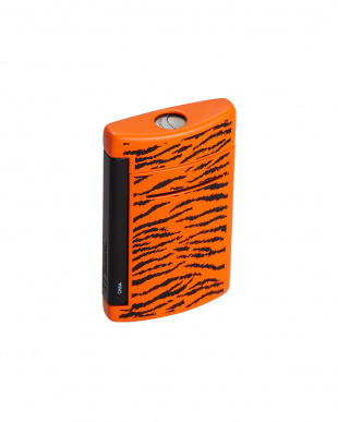 ブラック×オレンジ(タイガー) ライター MINIJET見る