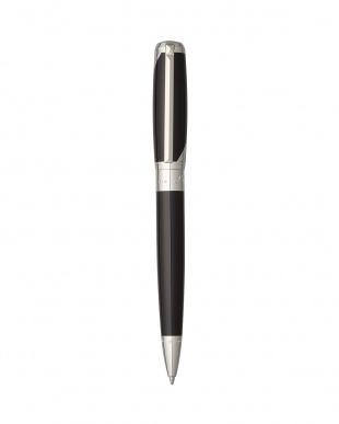 ブラック純正漆×パラディウム ラインD ブラゾン ボールペン見る