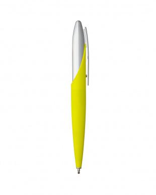 イエロー(コンポジット樹脂)×クローム ボールペン・JET8見る