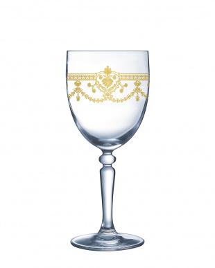 ダンピエール ゴールド ワイングラス190 6客セット見る