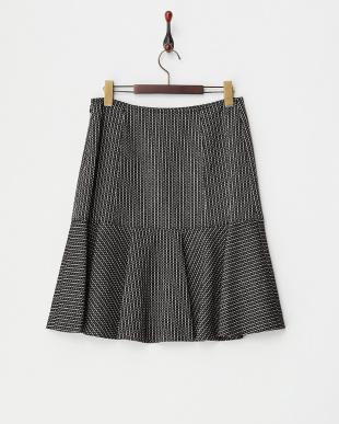 ブラック  ペプラムスカート見る