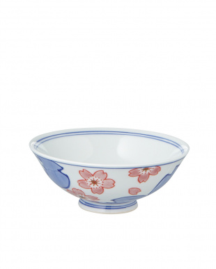 鍋島桜飯碗(小)見る