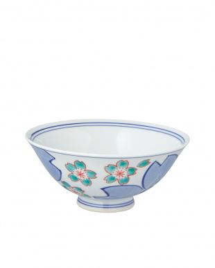 鍋島桜飯碗(大)見る