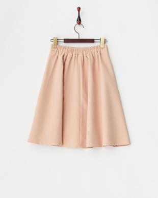 ライトピンク  フレアデザインスカート見る