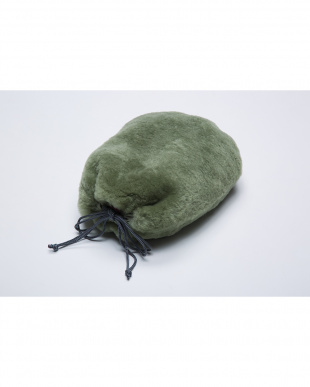グリーン  湯たんぽカバー(湯たんぽ付き)見る