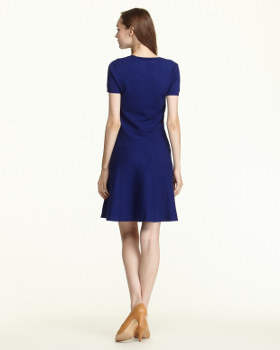 BLUE  VOILLON DRESS見る