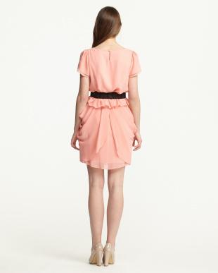 ピンク  ツーピースドレス見る
