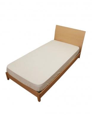 ホワイト  シンカーパイル ベッド用クイックシーツ セミダブル見る