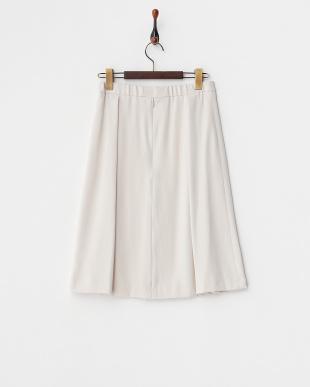 ベージュ  エステルタック入りスカート見る